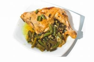 Pollo Iberico with Green Beans Recipe