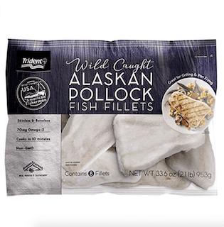 Trident Seafoods WIld Alaska Pollock Fillet
