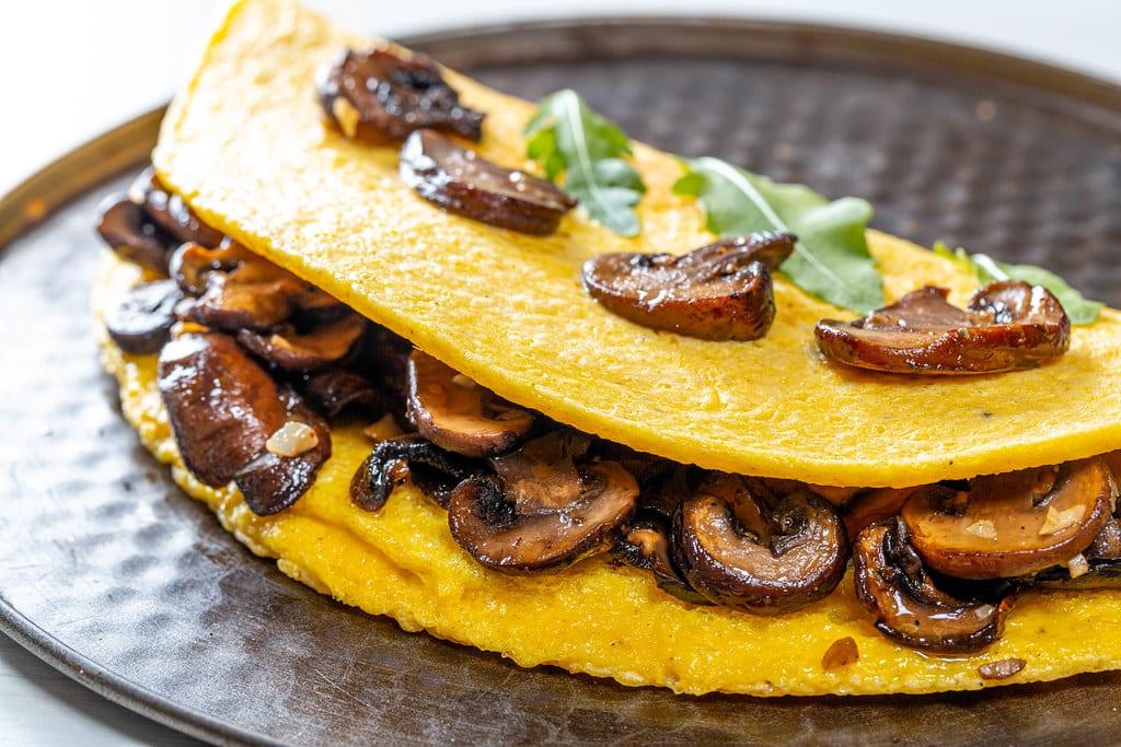 Portobello Mushroom Omelette Recipe
