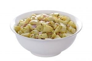 Potato Salad with Capers, Olives and Bacon Recipe