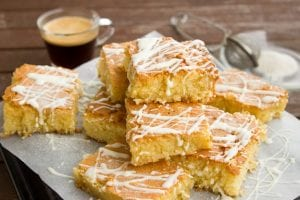Pumpkin Bars with Lemon Glaze Recipe