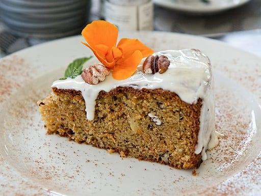 vanillabeancoffee cake