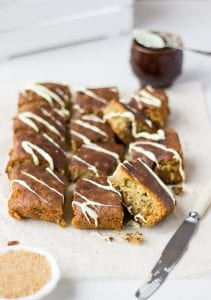 Pumpkin Macadamia Bars Recipe