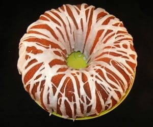 Pumpkin Pound Cake with Cream Cheese Icing Recipe