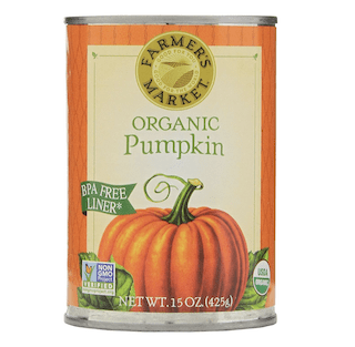 Farmer's Market Foods Canned Organic Pumpkin Puree