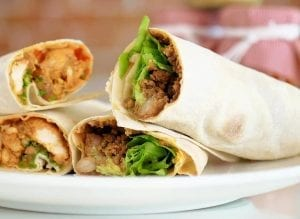 Qdoba Copycat Chicken Burrito Recipe