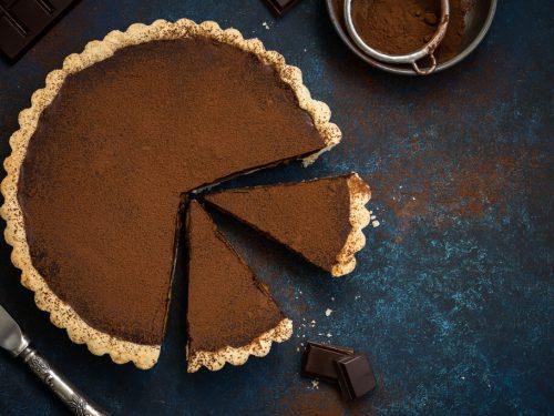Quick and Easy Fudge Pie Recipe, old fashioned chocolate pie recipe