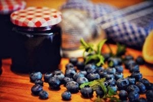 Rhubarb and Blueberry Jam Recipe