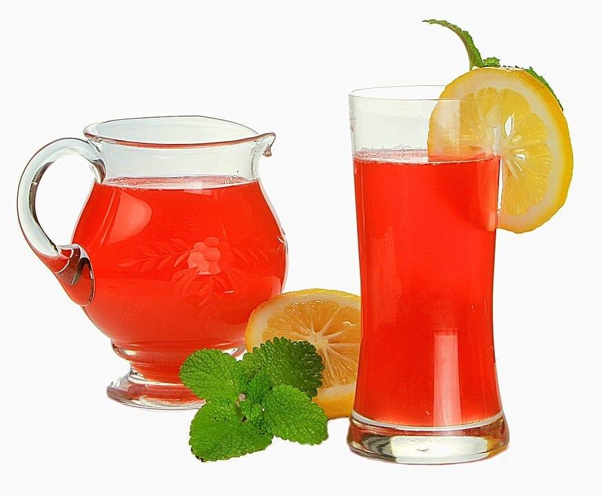 Rhubarb Lemonade Punch Recipe