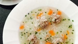Rice and Meatball Soup Recipe