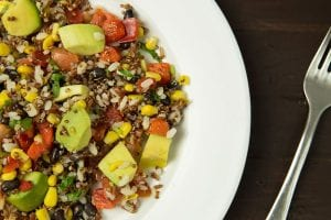 Rice Salad with Grilled Vegetables Recipe