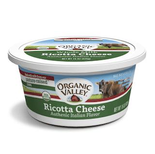 Organic Valley, Organic Ricotta Cheese