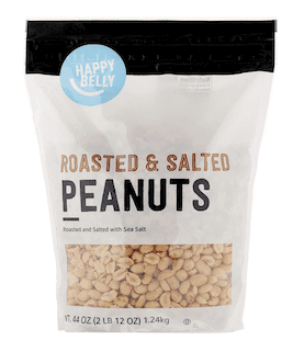 Amazon Brand - Happy Belly Roasted and Salted Peanuts