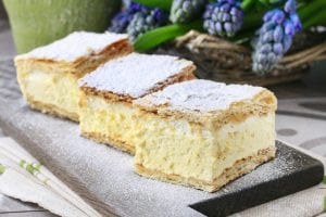 Romanian Cream Cake Recipe