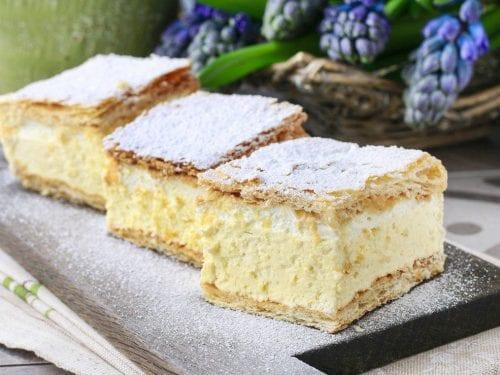 romanian cream cake