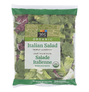 365 Everyday Value, Organic Italian Salad
