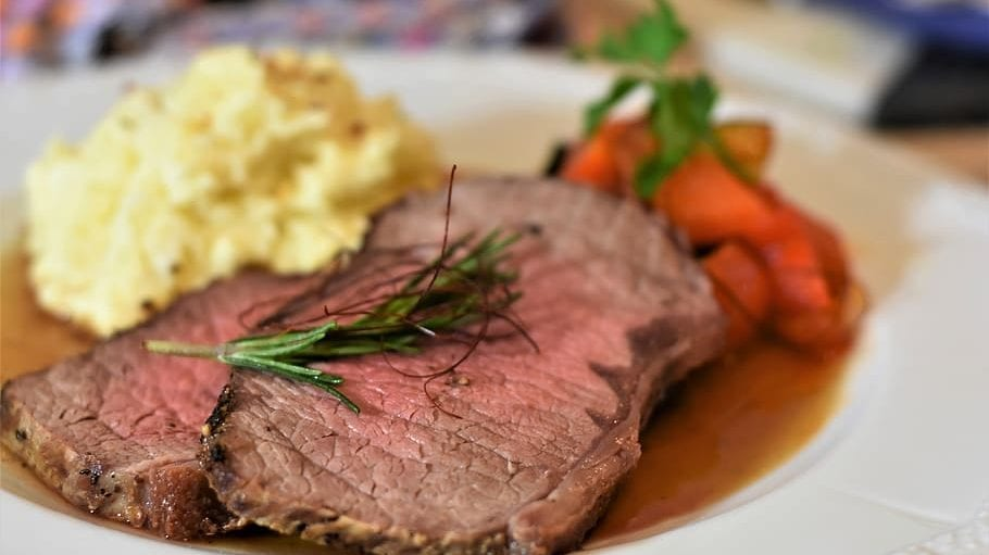 Savory Beef Pot Roast in Crockpot Recipe
