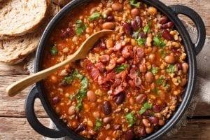 Settler Beans Recipe