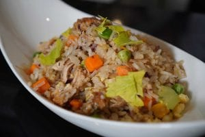 Shredded Chicken Fried Rice Recipe