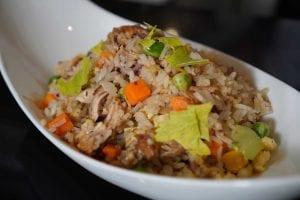 Shredded Chicken Fried Rice Recipe