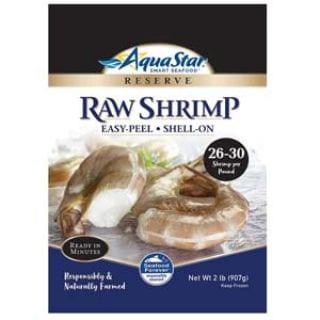 Aqua Star, Raw, Easy-Peel, Shell-on Shrimp