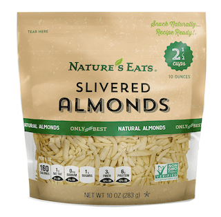 Nature's Eats Blanched Slivered Almonds