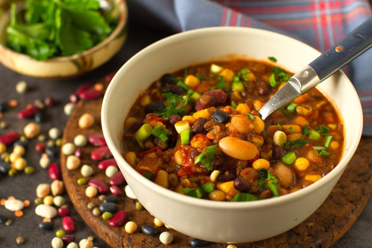 Slow Cooker Beef and Lentil Chili Recipe