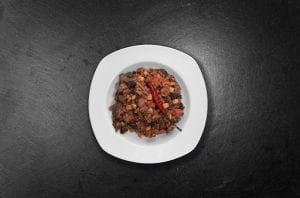 Slow Cooker Hearty Beef & Bean Chili