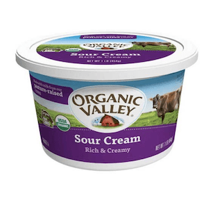 Organic Valley Organic Sour Cream