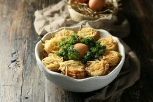 Spring Potato Baskets Recipe