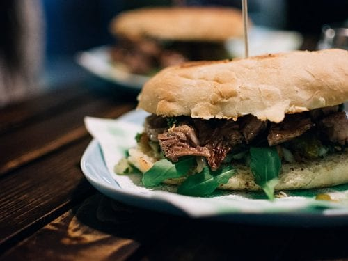 oversized sandwiches will satisfy any appetite