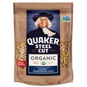 Quaker Steel Cut Oats, USDA Organic, Non GMO Project Verified