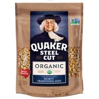 Quaker Steel Cut Oats, USDA Organic, Non GMO Project Verified