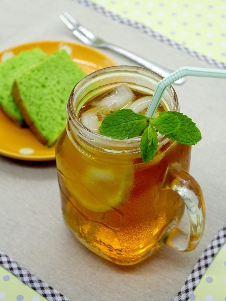 Summer Herb Tea Punch Recipe