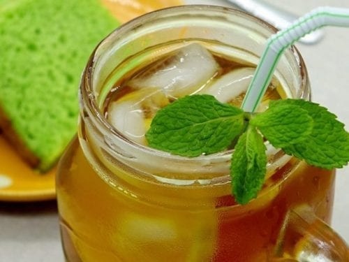 herb tea punch