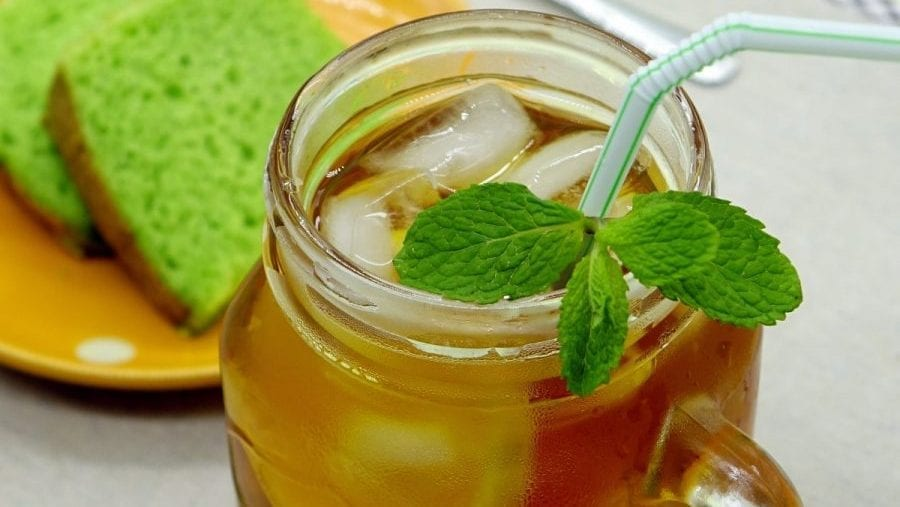 Summer Herb Tea Punch Recipe
