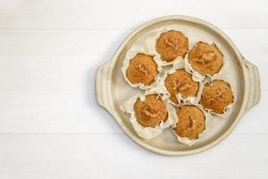 Sweet Potato and Pumpkin Spice Packed Muffins Recipe