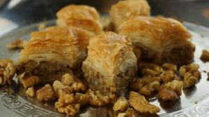 Sweet Walnut Maple Bars Recipe