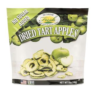 Dried Tart Apple Slices