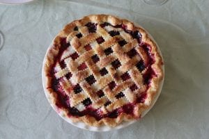 Cherry Amaretto Tart - FoodBabbles.com