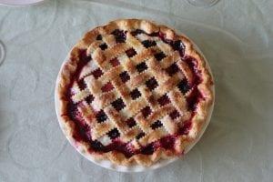 Cherry Amaretto Tart - FoodBabbles.com