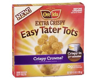 Ore Ida Extra Easy Tater Tot