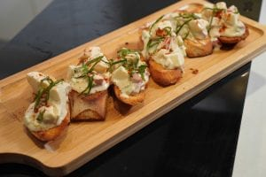 Creamy Tomato and Egg Bruschetta Recipe