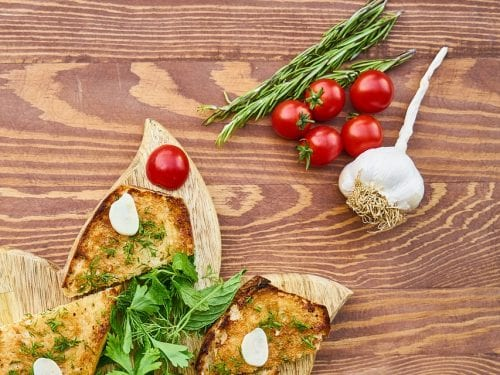 Tomato Bread Recipe, made using fresh tomatoes, garden herbs and active dry yeast
