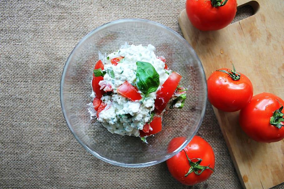 Tomato Cottage Cheese Salad Recipe