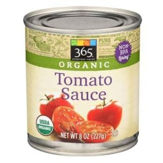 365 Everyday Value, Organic Tomato Sauce