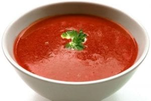 Tomato Soup With Pepperoni And Provolone Recipe