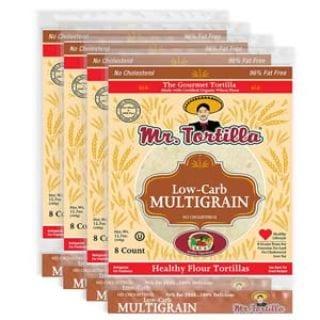 Low-Carb Multigrain Tortilla by Mr. Tortilla