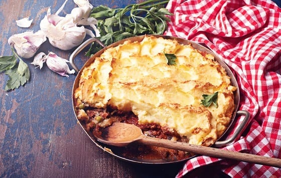 Copycat Turkey Shepherd's Pie by Katie Lee Recipe