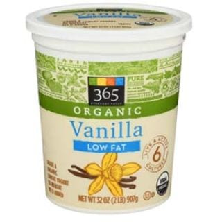 365 Everyday Value, Organic Low Fat Yogurt, Vanilla